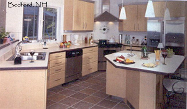 Lescare Kitchen Cabinets : Wood Kitchen Cabinets ...