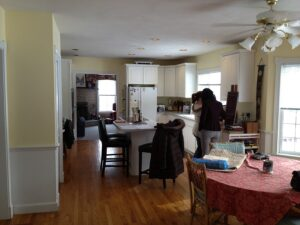 Before Kitchen Hollis NH