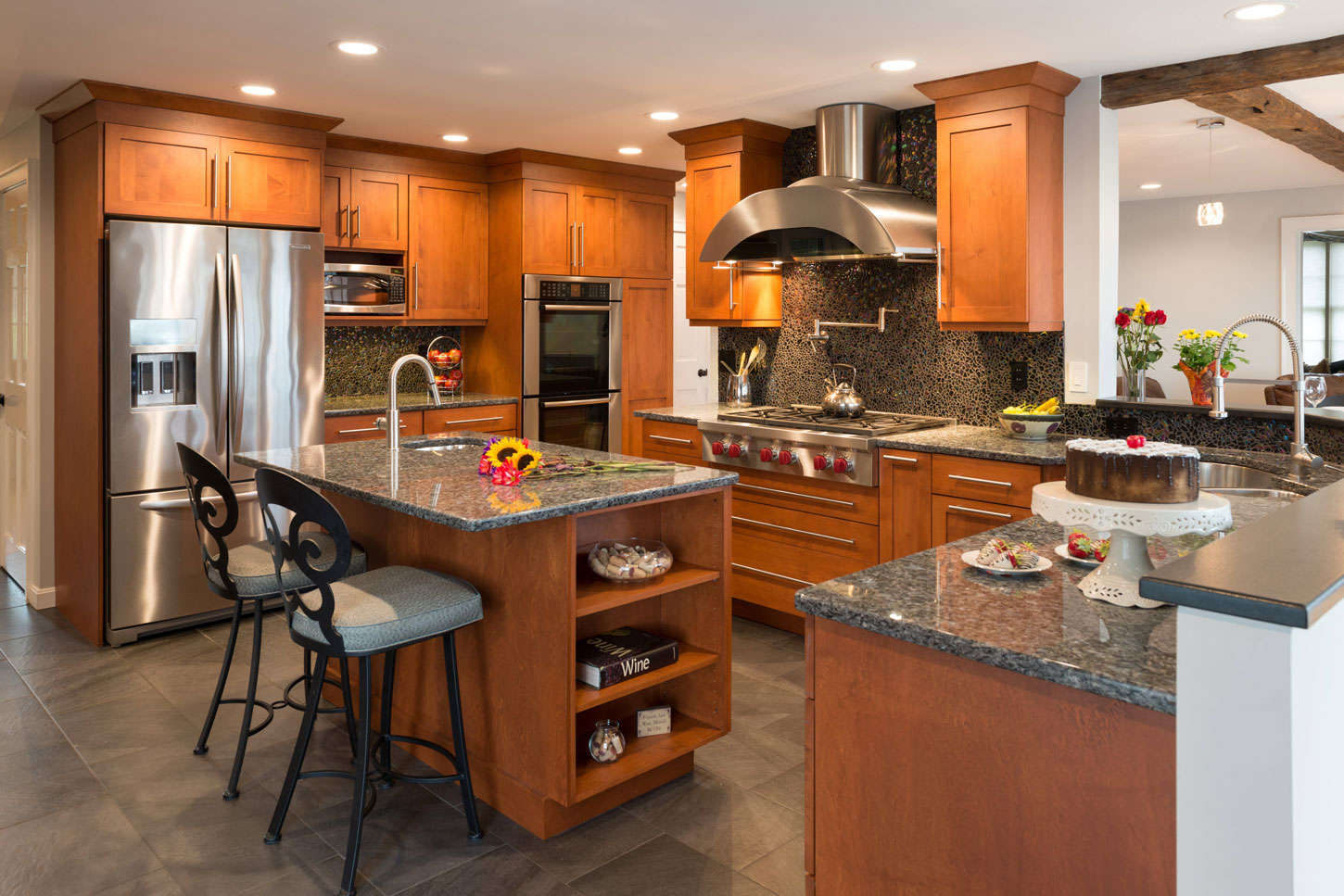 Before and After, Kitchen Remodel Weare NH