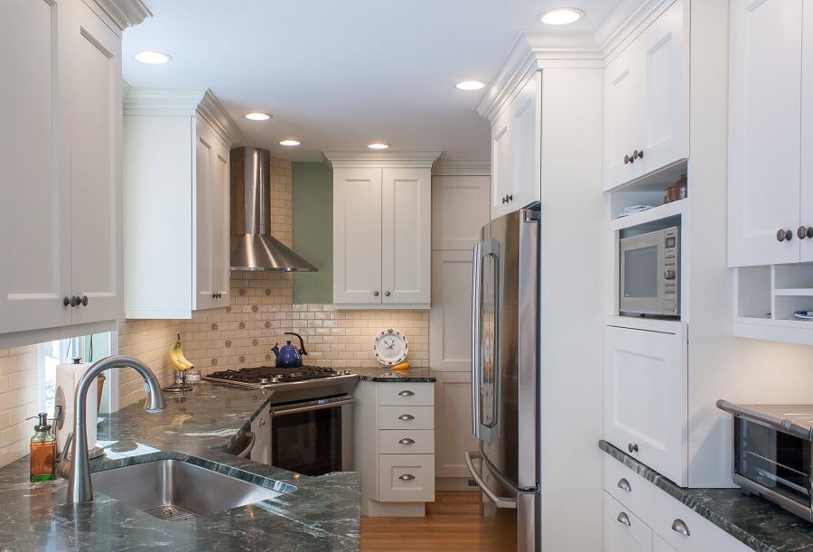 Before and After Kitchen Remodel Westford MA
