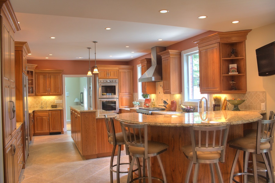 Chelmsford MA Before and After Kitchen Remodel