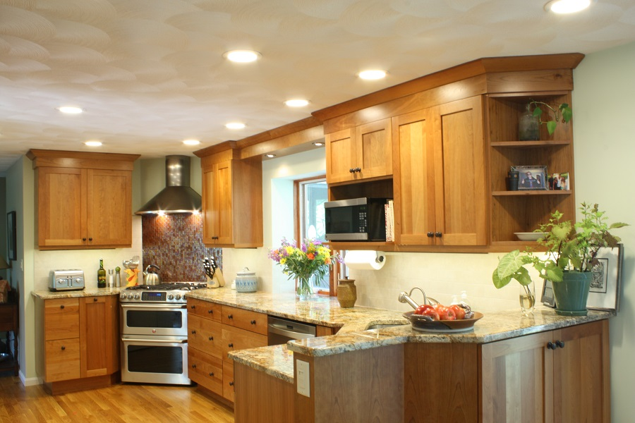 Westford ma kitchen remodel dream kitchens for Before and after remodeled kitchens