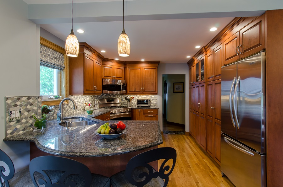 Before and After Kitchen Remodel Billerica MA