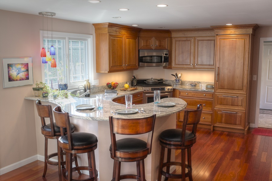 Nashua NH Kitchen Remodel Before and After