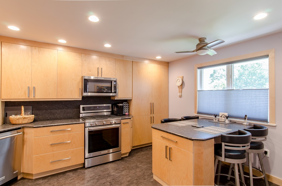 Contemporary Kitchen Remodel Westford MA