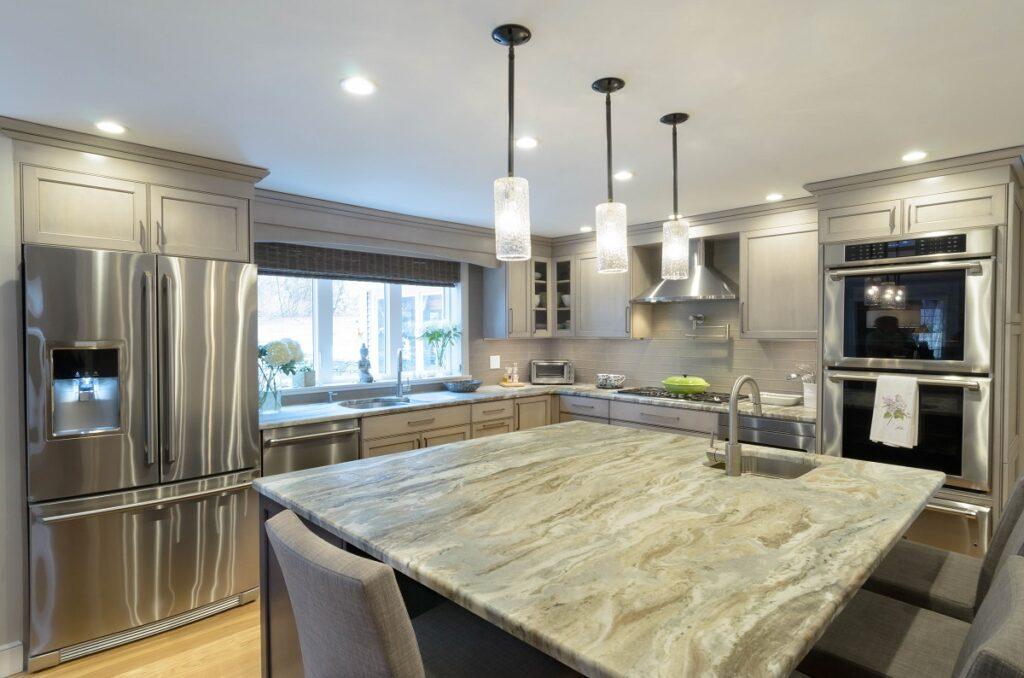 Gray kitchen remodel