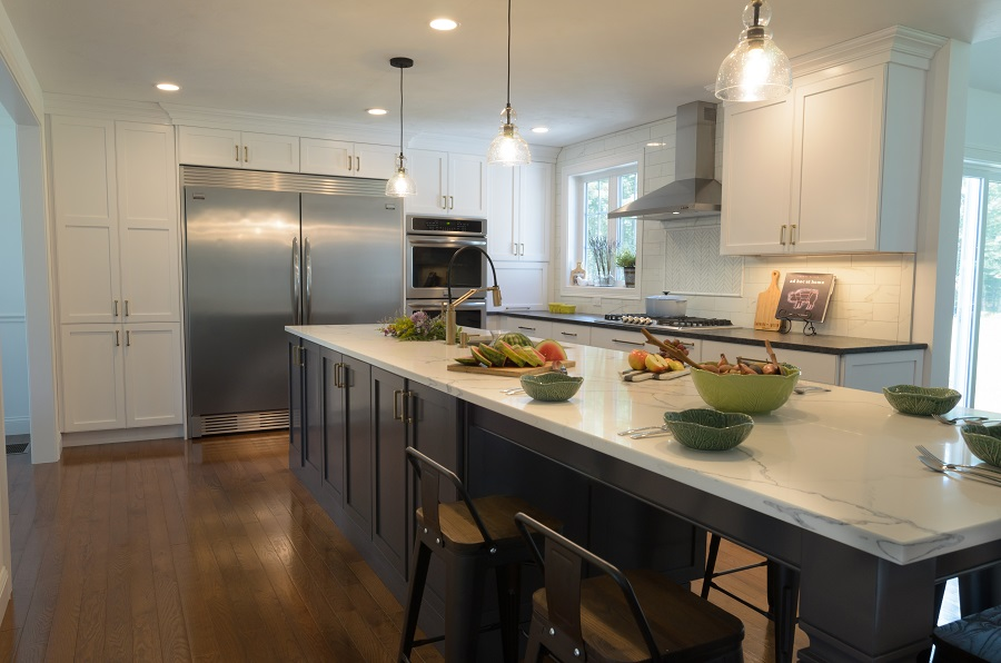 New Two Toned Shaker Kitchen Remodel In Dunle Ma Dream