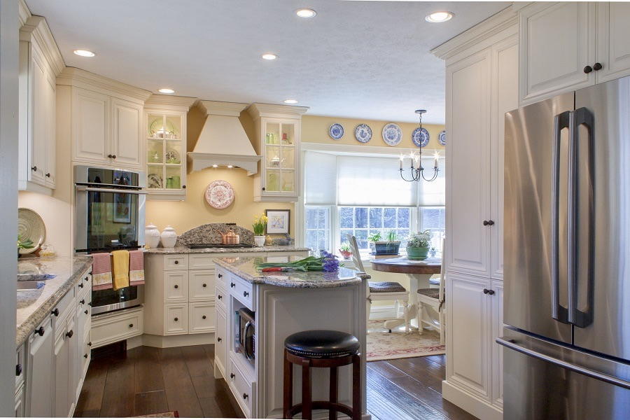 This kitchen has a fun, fairytale aspect to it!