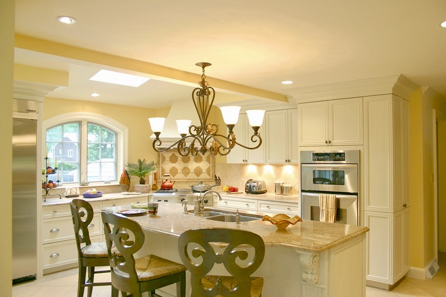 Ornate kitchens can be cozy and inviting!