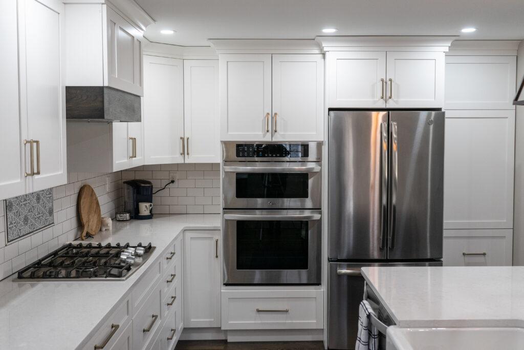 Large white kitchen